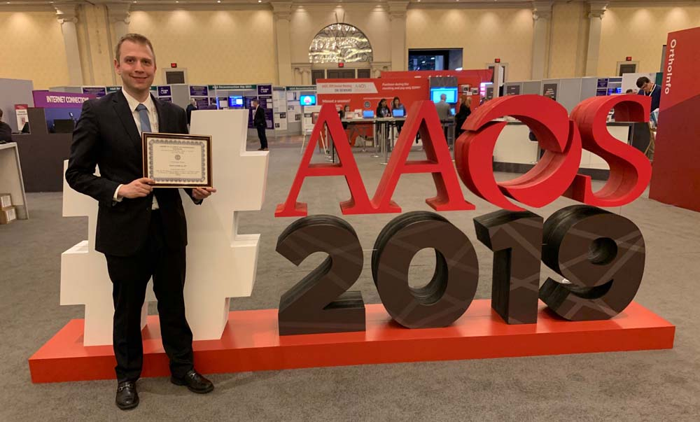 Dr. David Gendelberg at AAOS 2019