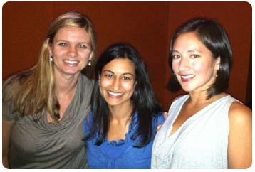 Drs. Heidi Shors (Alumna '06), Rajshri Bolson (Alumna '09), Allison MacLennan