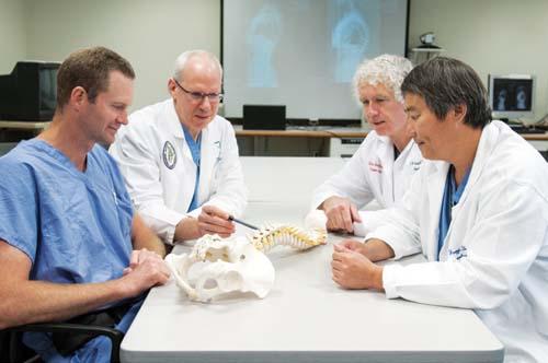 Drs. Richard Bransford, Carlo Bellabarba, Randall Chesnut and Fangyi Zhang