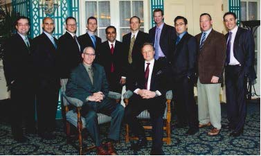 Spine fellows and faculty