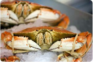 Pike Place Market crab