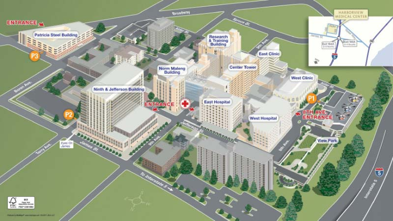 Directions To South Campus Center Scc Uw Orthopaedics
