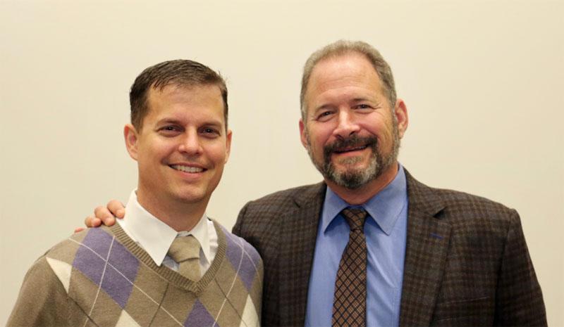 Dr. Jared L. Harwood and Dr. Howard Chansky